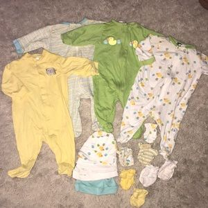 Other - Baby footie pajamas lot